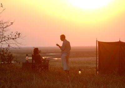 Sundowners on Safari with BJORN AFRIKA ©