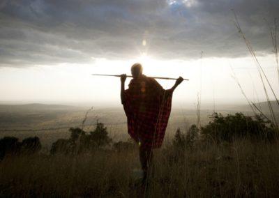Entamanu Ngorongoro - Maasai with BJORN AFRIKA