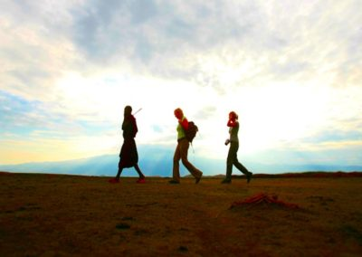 Walking & Hiking on Safari wih BJORN AFRIKA ©