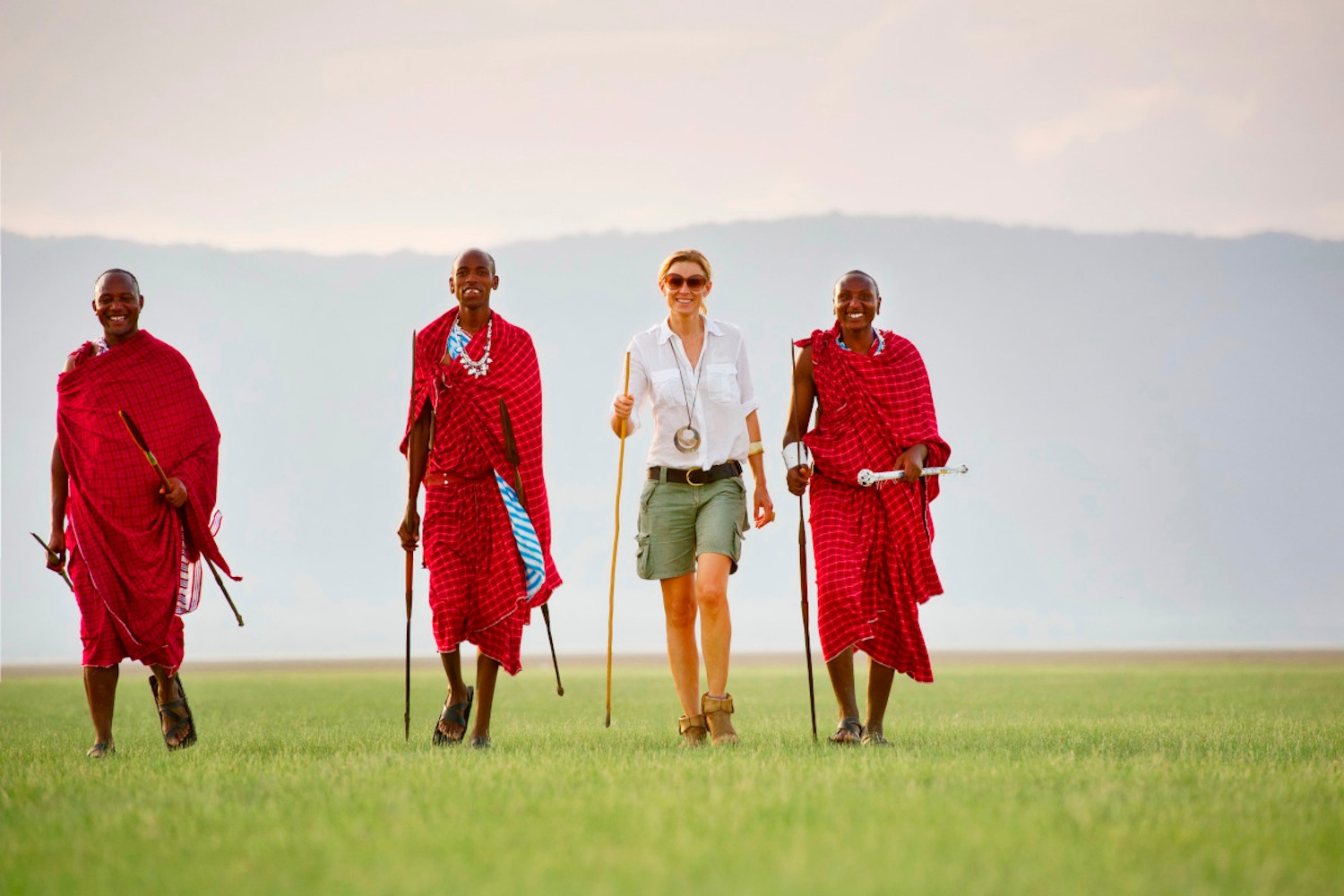 Bespoke Experiential Experiences - Walking with Maasai Warriors at Chem Chem with BJORN AFRIKA