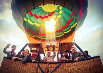 Ballooning in Tarangire National Park on Safari with BJORN AFRIKA ©