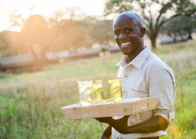 Sundowners on Safari with BJORN AFRIKA