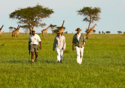 Bushwalks on Safari at Singita with BJORN AFRIKA