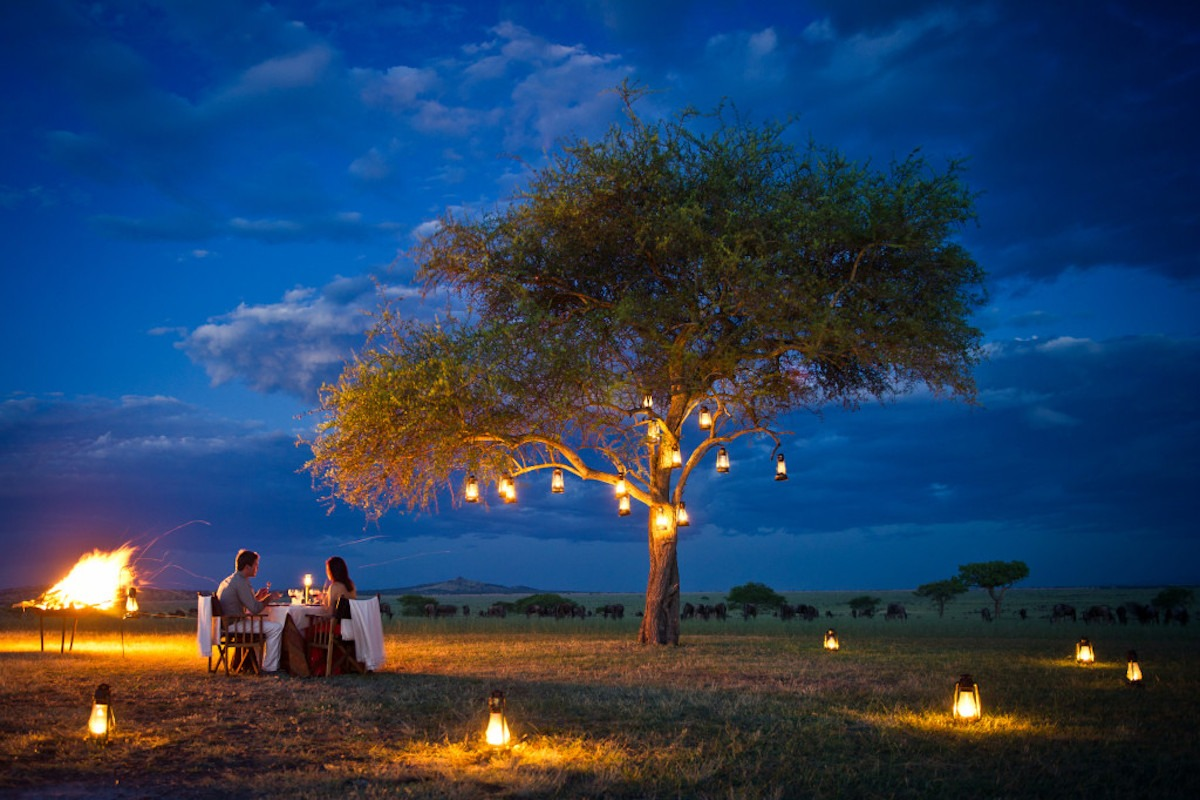 Romance in the Bush - Private Bush Dinner at Singita with BJORN AFRIKA