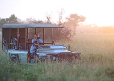 Game Drive at Singita Grumeti Reserve on Safari with BJORN AFRIKA