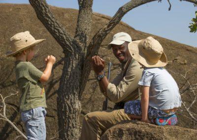 Children on Safari with BJORN AFRIKA ©